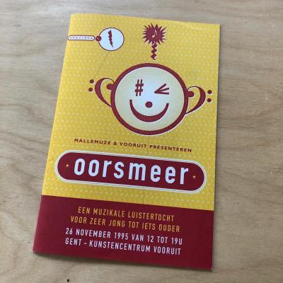 Allereerst Oorsmeer brochure