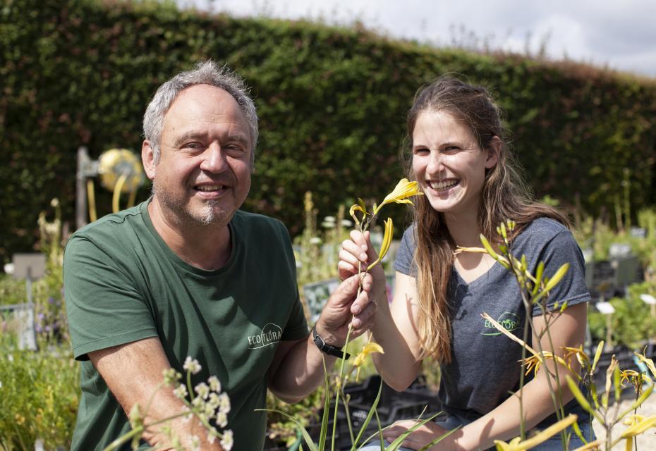 Freddy en Naomi Sparrenberg van Ecoflora
