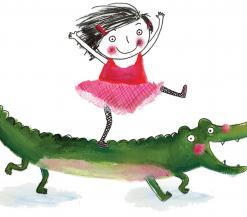 Rita en Krokodil zijn vriendjes