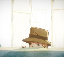 Agatha Christine bespionert