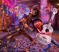 Coco danst in de straten van het Dodenrijk