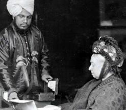 Historische foto van Victoria en Karem