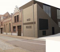 Toekomstbeeld van het architectenbureau: straatkant