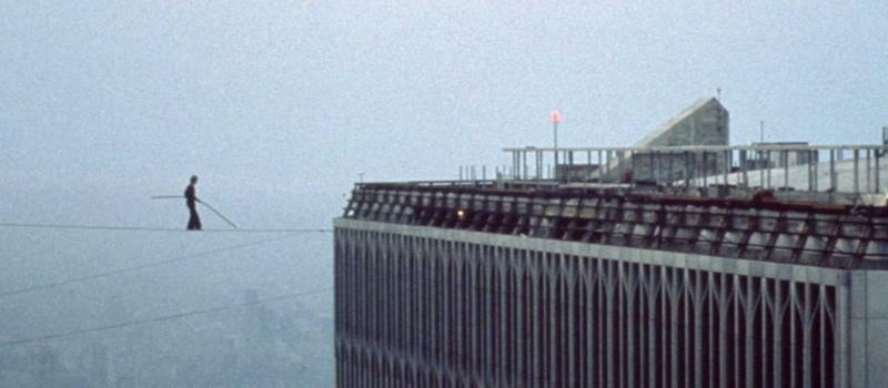Philippe Petit liep in 1974 op een koord tussen de Twin Towers