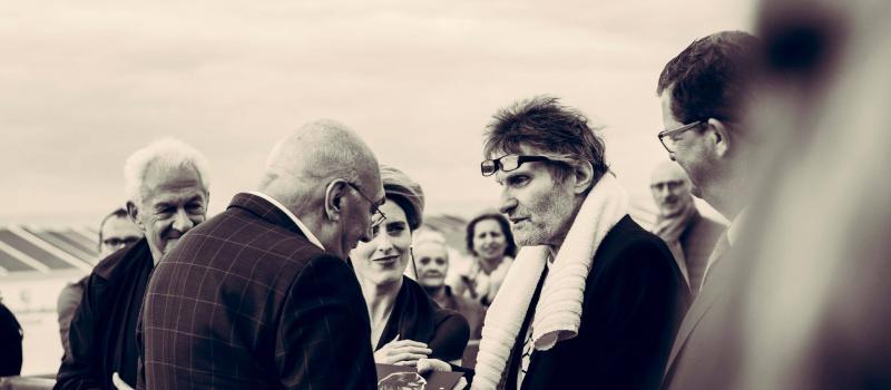 Robbe de Hert wordt geëerd op het Filmfestival van Oostende met een ster