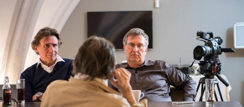 Erik Van Looy en Jan Verheyen interviewen Robbe De Hert