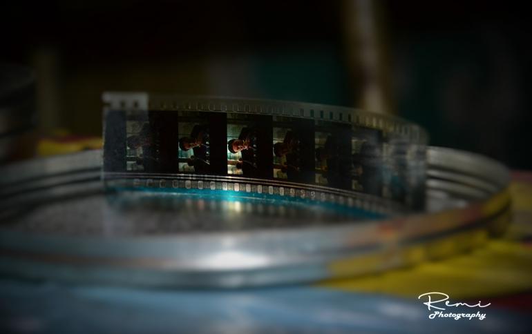 Een stukje film dat in de Plaza gevonden werd