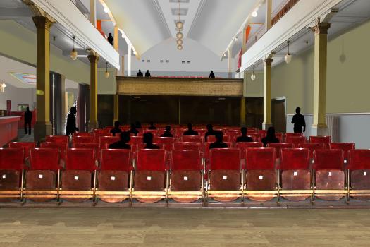 Een toekomstbeeld van het architectenbureau