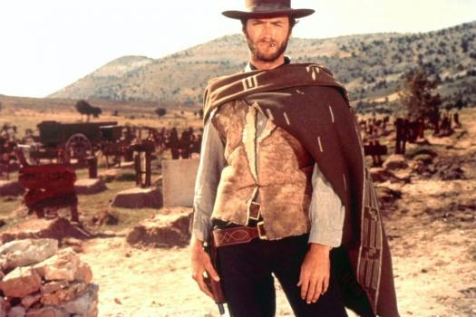 Iconisch beeld uit The Good, The Bad and The Ugly