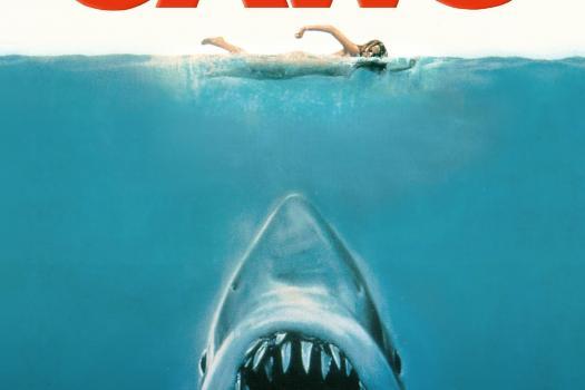De filmposter van Jaws