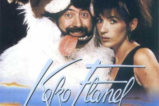 De oude filmposter van Koko Flanel