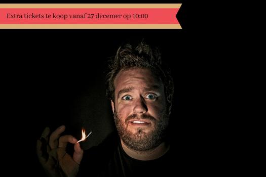 Jens Dendoncker met een opbrandend stekje