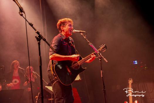 Geraar met zijn gitaar