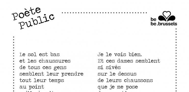 Poète public, #letsmeetro