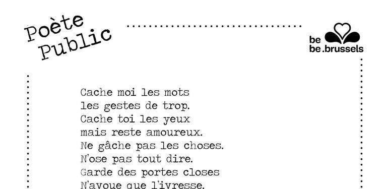 poète public, #lets meetro