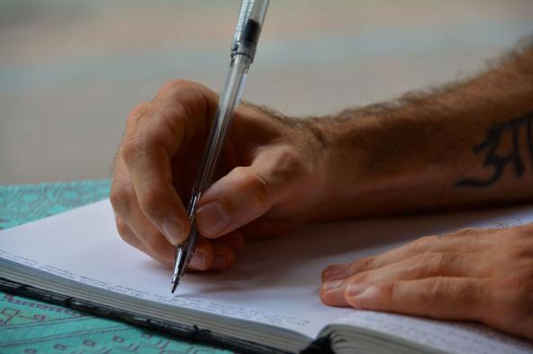 schrijf iets lief
