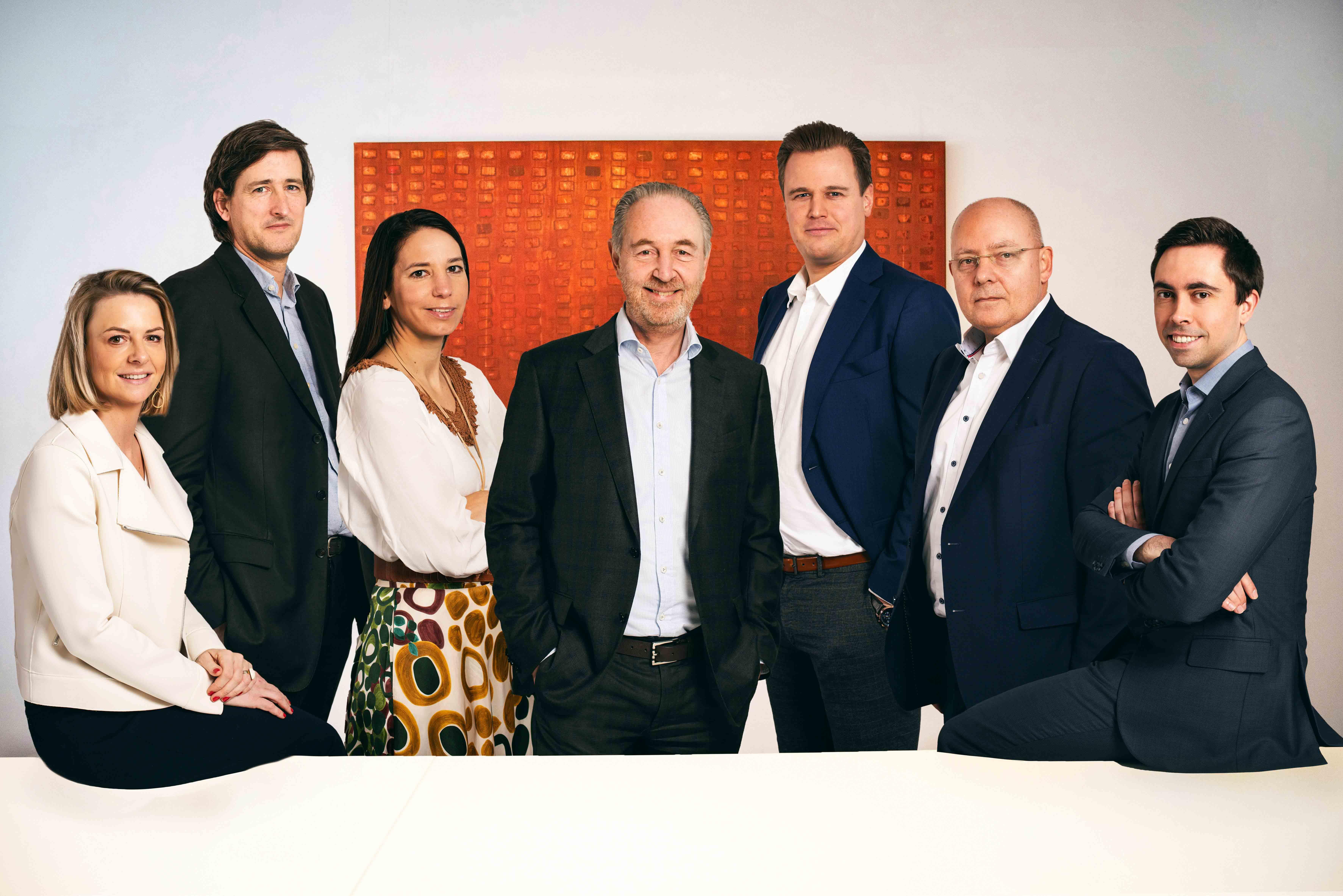 Dealmakers groepsfoto