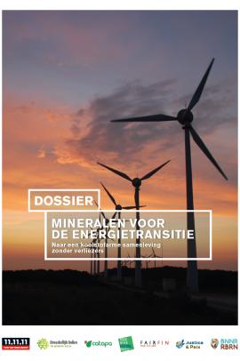 Dossier Mineralen voor de energietransitie