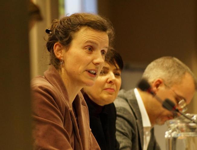 Anneleen De Bonte aan het woord bij FRDO