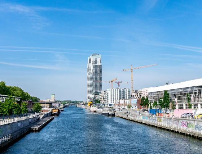 Kanaalzone Brussel (foto: Stefaan Van Parys)