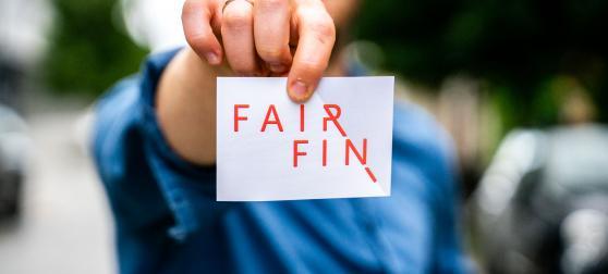 fairfin sticker