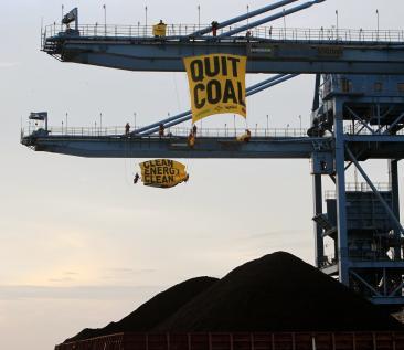 Break Free Indonesia cirebon greenpeace