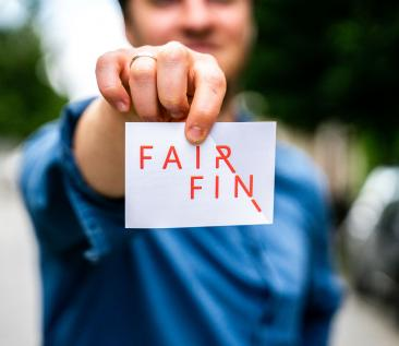 fairfin sticker