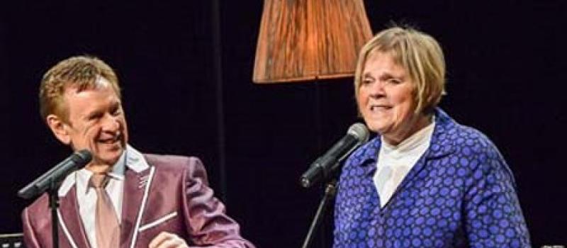 Koen Crucke en Margriet Hermans