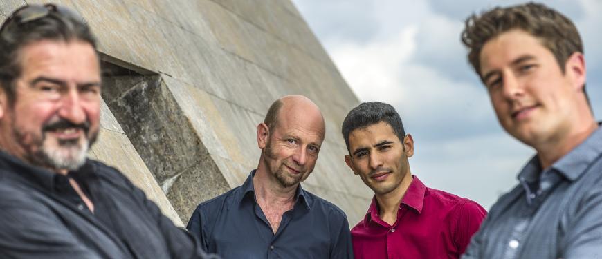 Edgar Knecht Trio & Aeham Ahmad