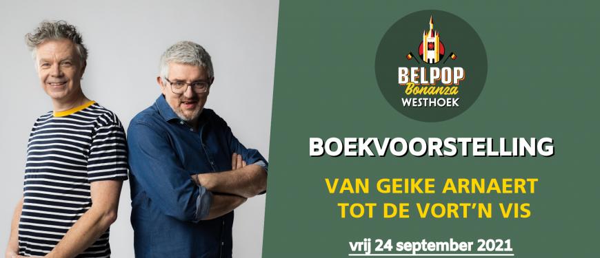 Artist Talk - Boekvoorstelling Belpop Bonanza Westhoek