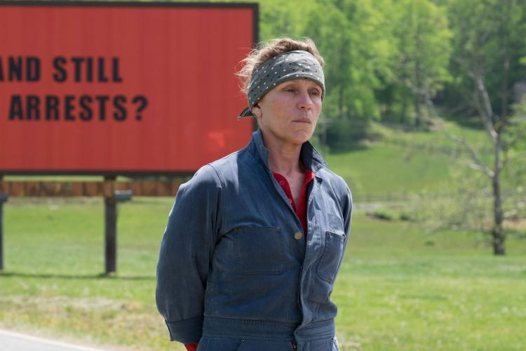 Three Bilboards outside Ebbing Missouri – Martin McDonagh