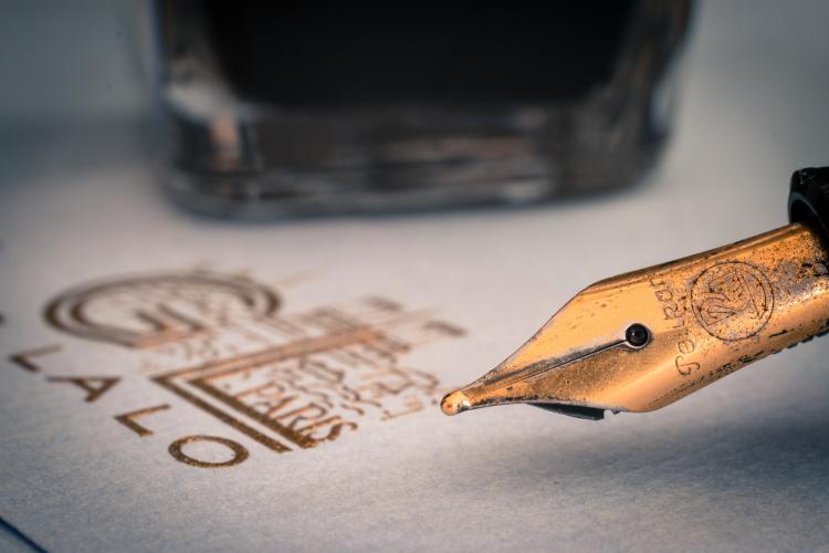 Vorming Kalligrafie - witruimte