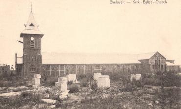 Noodkerk Geluveld (1919 - 1925) - © Westhoek Verbeeldt