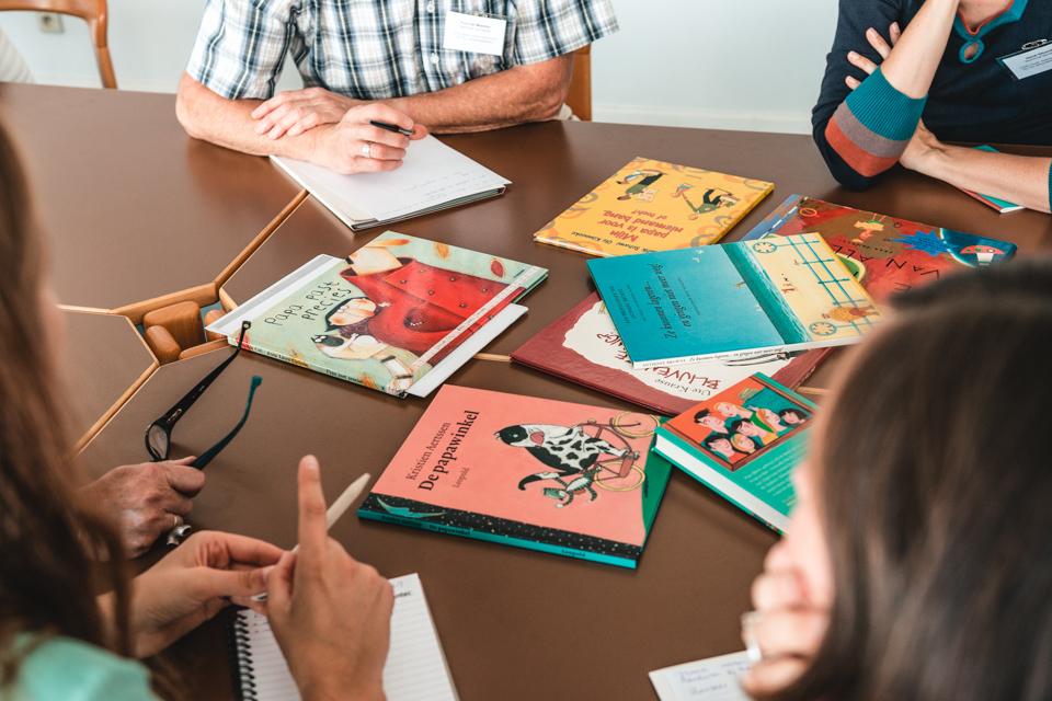 Workshop over lezen en boeken