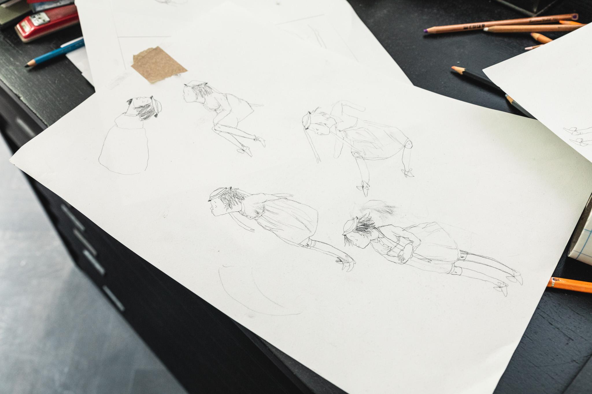 'Ik schets minder dan vroeger'