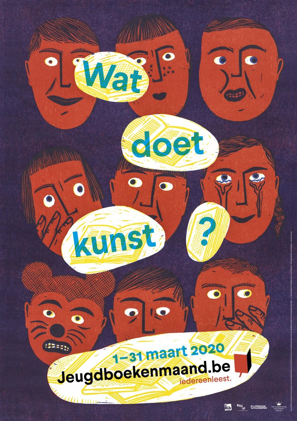 Affiche Jeugdboekenmaand 2020