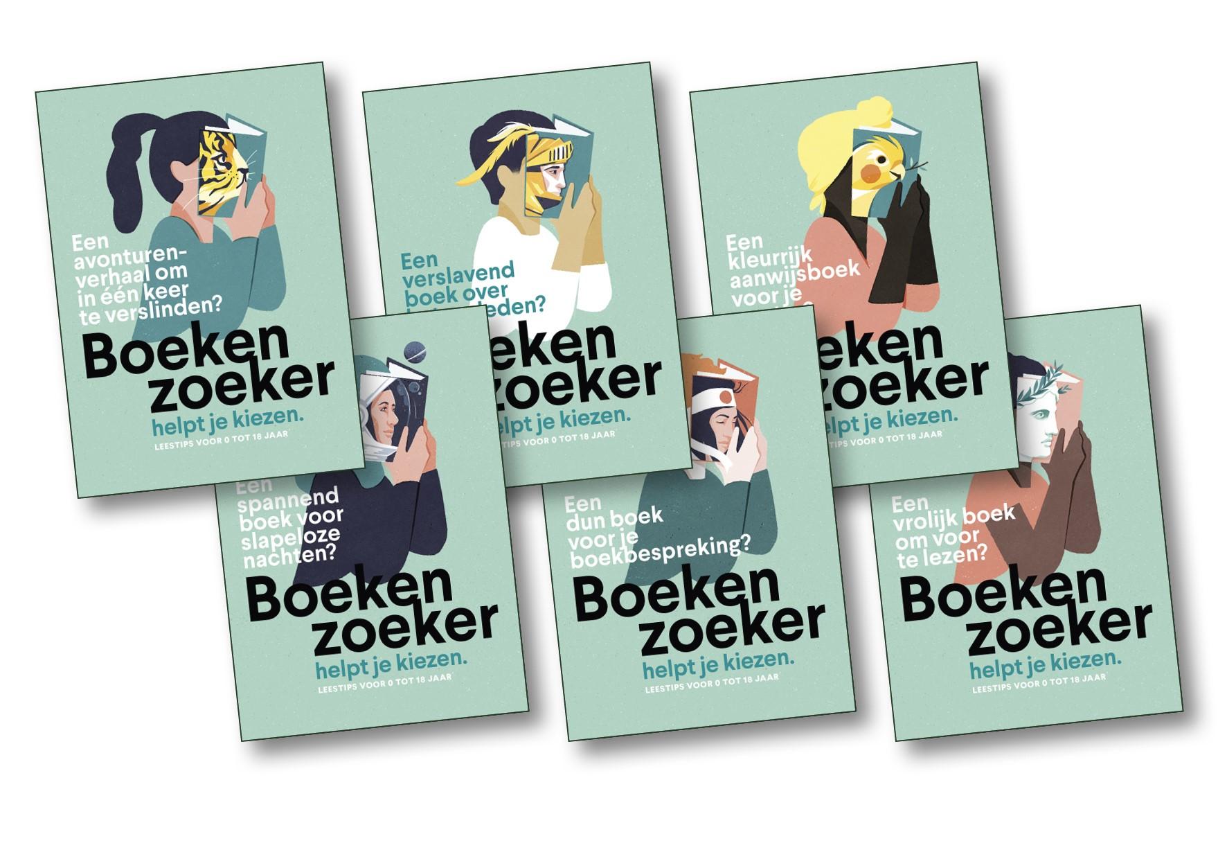 Postkaartjes Boekenzoeker