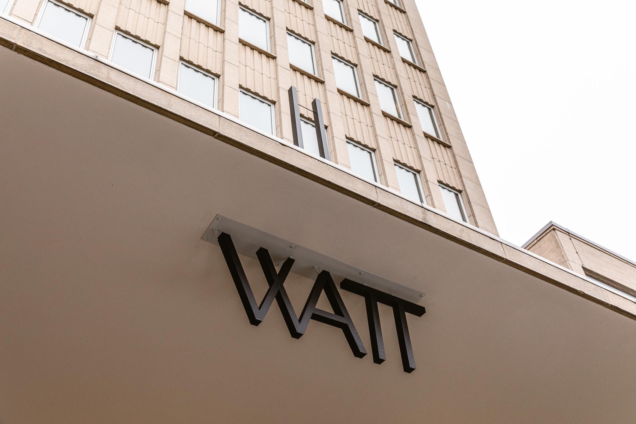 Werken in de Watt-toren