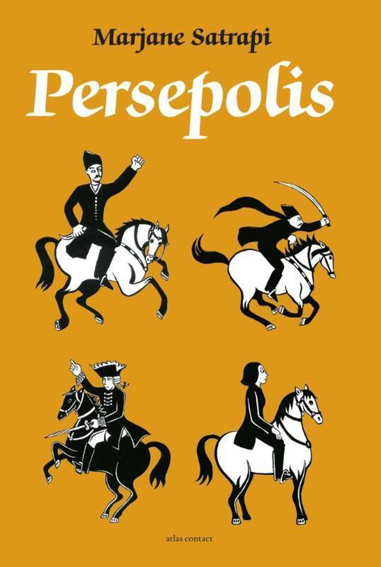 'Persepolis' - Marjane Satrapi