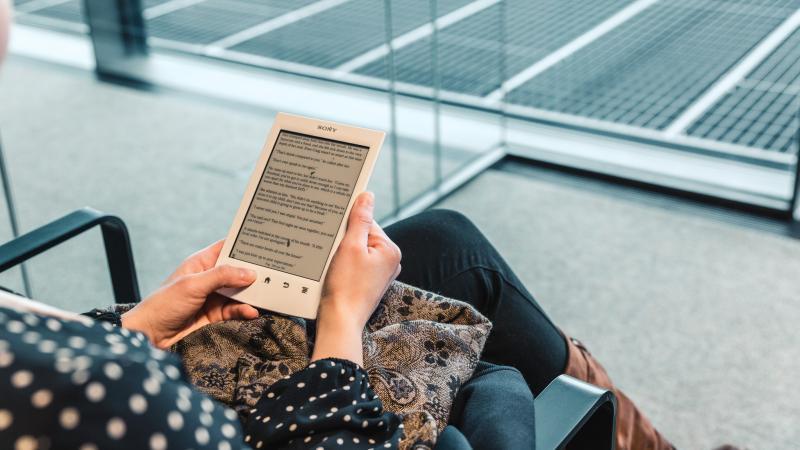 Lezen op de tablet