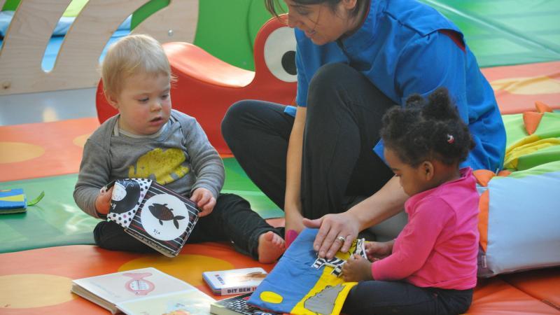Voorlezen in de kinderopvang