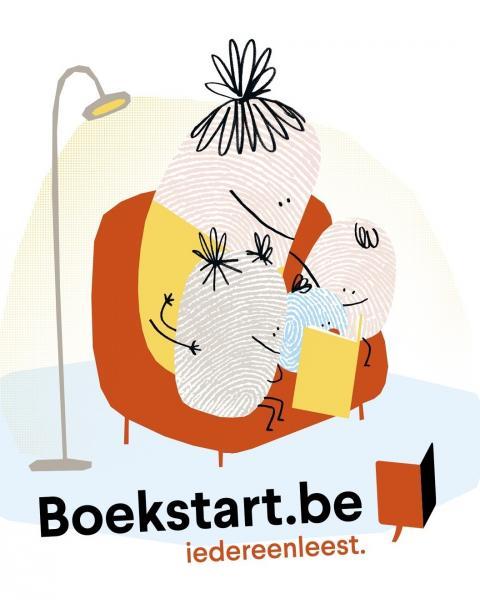 Boekstart wil boeken binnenbrengen bij jonge gezinnen.