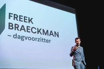 Freek Braeckman was dagvoorzitter