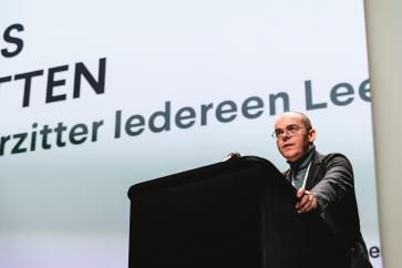 Kris Rutten, voorzitter van Iedereen Leest