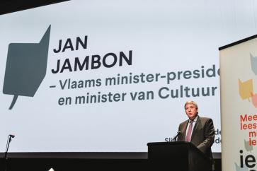 Minister van Cultuur Jan Jambon
