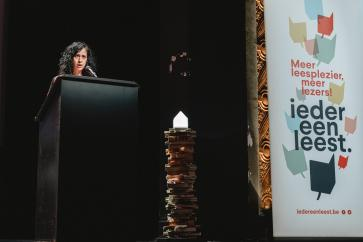 Historica Magaly Rodriguez Garcia over panda's en studenten