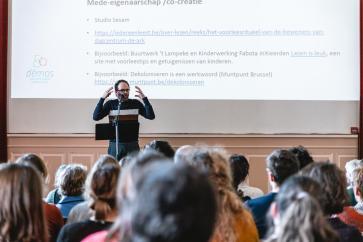 Kris De Visscher (DEMOS) over participatie