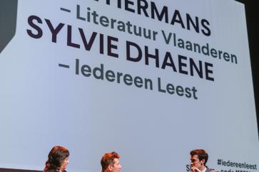 Slotbeschouwing met Sylvie Dhaene (Iedereen Leest) en Paul Hermans (Literatuur Vlaanderen)