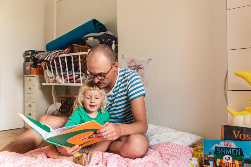 Papa Pieter leest voor