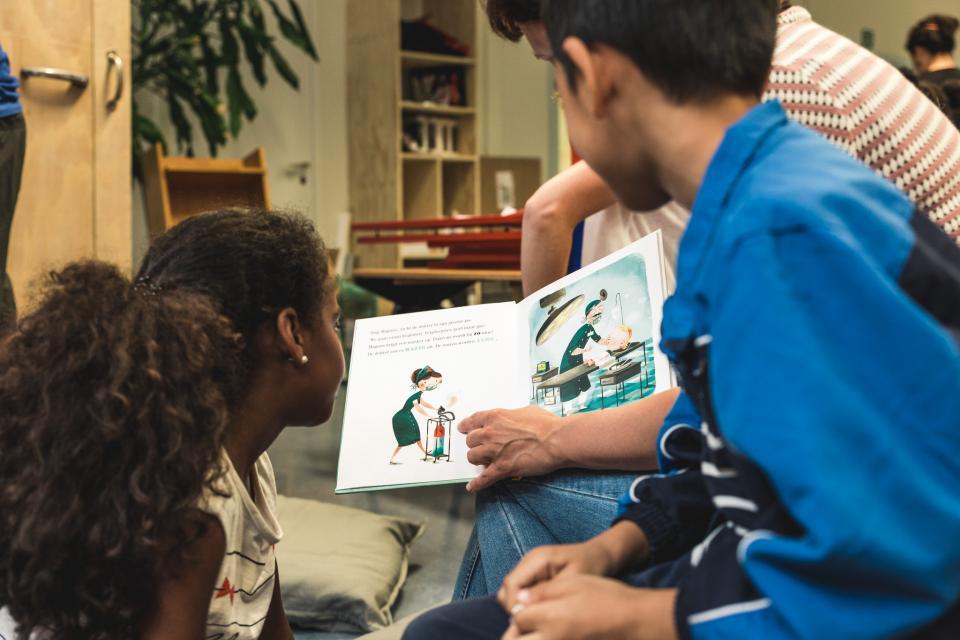 Voorlezen in de klas
